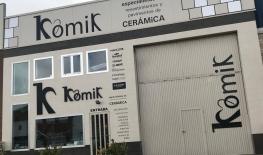 Fachada exterior de Komik cerámicas